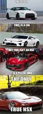 lexus lfa vs acura nsx why the new acura nsx is too damn sensible for its own good
