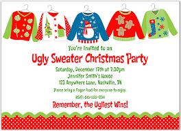 ugly christmas sweater party invitation wording u2013 frenchkitten net