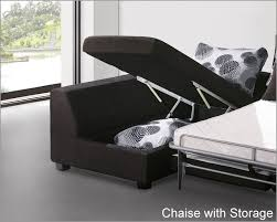 Sleeper Sofa With Storage Impressive Sleeper Sofa Sets Sectional Set With Sleeper Sofa And