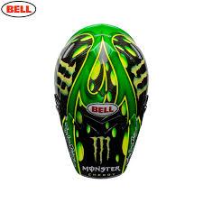 monster motocross helmet bell moto 9 carbon flex mcgrath procircuit monster motocross