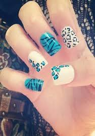 cute nail designs short acrylic nail designs