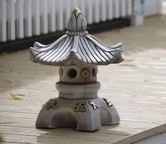 borderstone single top pagoda garden ornament gardensite co uk