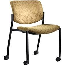 Upholstered Reception Desk Upholstered Desk Chair With Wheels Kit4en Com