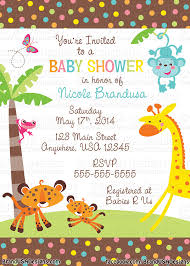 do it yourself baby shower invitations templates futureclim info