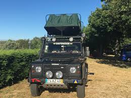 land rover safari roof oasis ii roof tent defender setup che overland land rover