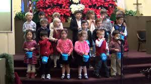 learners preschool children singing carols