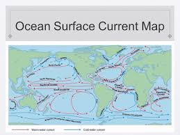 Ocean Currents Map The Dynamic Earth The Hydrosphere And Biosphere Objectives Name