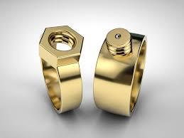 Mechanic Wedding Ring by Rings For Mechanics By Nikomedia On Deviantart