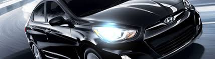 led halo headlight accent lights 2012 2014 hyundai accent led drl aftermarket projector headlights by