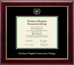 frame for diploma northern virginia community college diploma frames church hill