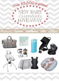 newborn baby essentials win 3 600 in baby must haves in our new baby essentials giveaway