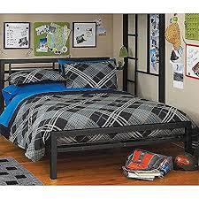black size metal bed platform frame great