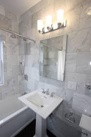Kohler Pedestal Bathroom Sinks Elegant Kohler Pedestal Sink In Bathroom Eclectic With Marble Tile