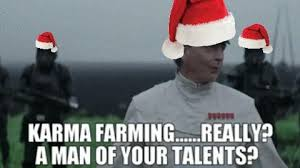 Ironically Liking Memes - when you are just reposting every meme with a santa hat on for the