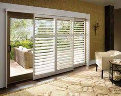 Sliding Shutters For Patio Doors Window Treatments For Sliding Doors Douglas Shutter