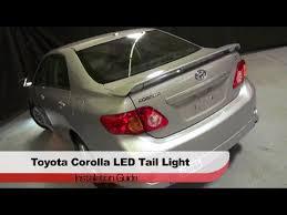 2010 toyota corolla tail light bulb spyder auto installation 2009 10 toyota corolla led tail lights