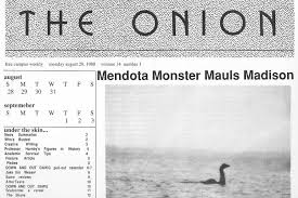 monster writing paper a brief history of the lake mendota monster the bozho