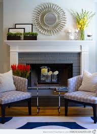 stylish living rooms 15 lovely and stylish living room fireplaces home design lover