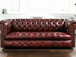 Leather Chesterfield Sofa Bed Leather Chesterfield Sofa Bed 1025theparty