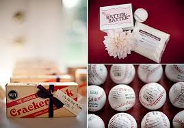 baseball themed wedding baseball themed wedding favors tbrb info