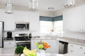 kitchen window backsplash the updated kitchen tour how to nest for less