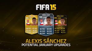 alexis sanchez youtube potential upgrades alexis sánchez fifa 15 ultimate team youtube