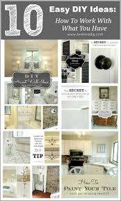 diy home decor ideas on a budget livelovediy 10 home improvement ideas how to make the most of