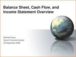 Balance Sheet Income Statement Cash Flow Template by 8 Balance Sheet Income Statement Cash Flow Financial Statement Form