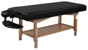 sierracomfort stationary massage table u0026 reviews wayfair