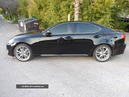 black lexus 2007 2007 lexus is350 sedan black tan premium wheels w premium u0026 sport pkg