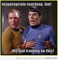 Kirk Meme - captain kirk what are you doing to spok http 2nerd com memes