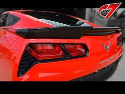 c7 corvette stingray corvette stingray gtx rear spoiler carbon fiber