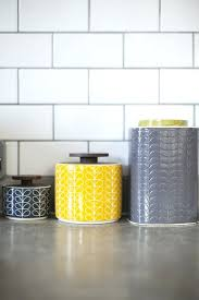 yellow kitchen canisters blue and yellow kitchen accessories medium size of kitchen items