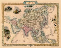 Imperialism Asia Map by Antique Map Of Asia By Tallis 1851 Map Asia World Pinterest