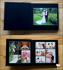 Leather Picture Album Black Leather Wedding Album Ross U0026 Annie Vt Wedding