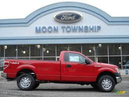 2012 vermillion red ford f150 xl regular cab 4x4 59859909