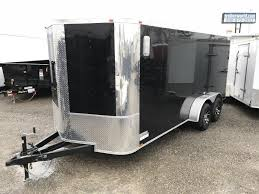 V Nose Enclosed Trailer Cabinets by Enclosed Cargo Trailers Trailer World Of Bowling Green Ky New