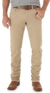 Wrangler Real Comfortable Jeans Wrangler Retro Men U0027s Light Brown Slim Stretch Jeans Straight
