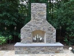 rustic masonry outdoor fireplace ideas brings vintage look for you