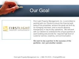 first light customer service property management company in los angeles