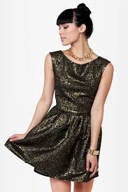 fancy brocade dress black and gold dress cocktail dress 44 00