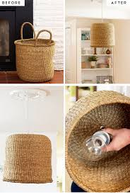 kitchen ideas diy simple diy kitchen decoration ideas 9 diy basket pendant l