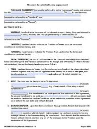 sample installment agreement free missouri residential lease