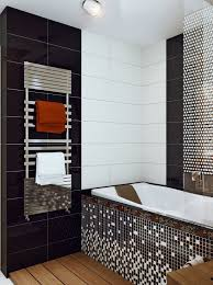 black and white bathrooms ideas black white mosaic bathroom tile interior design ideas black
