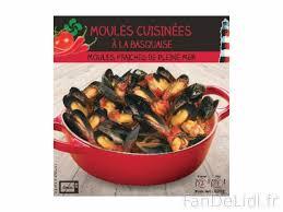 moules cuisin馥s moules cuisinées produits alimentaires fan de lidl fr