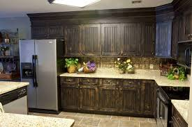 Black Painted Kitchen Cabinets Plain Brown Painted Kitchen Cabinets I Inside Design