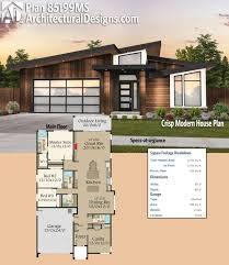 plan 85199ms crisp modern house plan modern house plans square