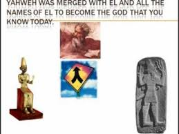 yahweh jehovah is pagan and not real