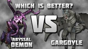 gargoyles mvm abyssal demons vs gargoyles youtube