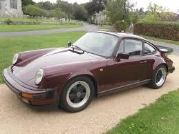 burgundy porsche 2017 1983 porsche 911 sc coys of kensington